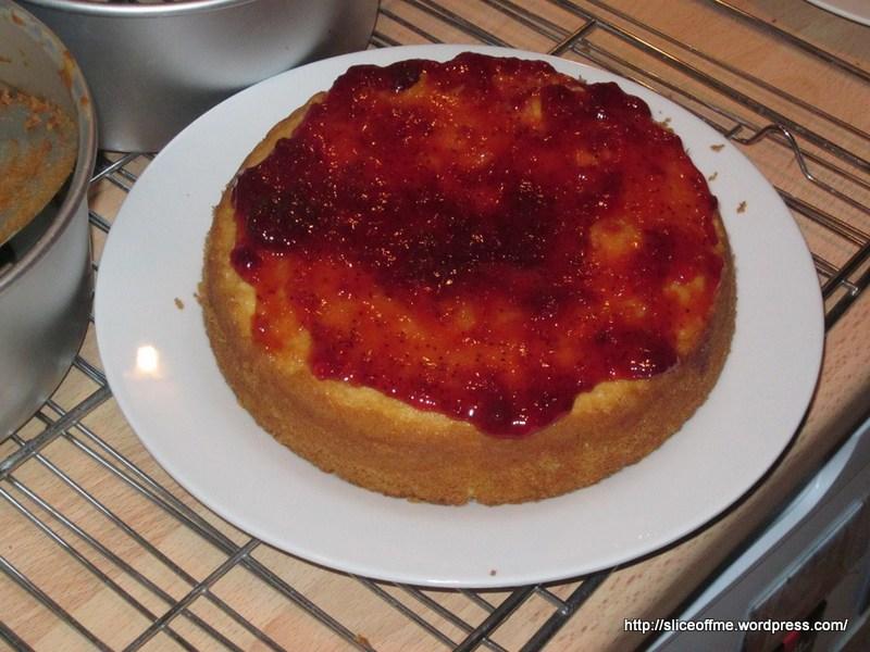 Voila , the classic British cake with a twist – Posh Victoria Sponge ...