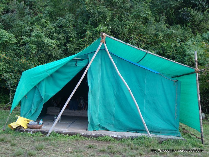 A typical Tent at Eco Camps