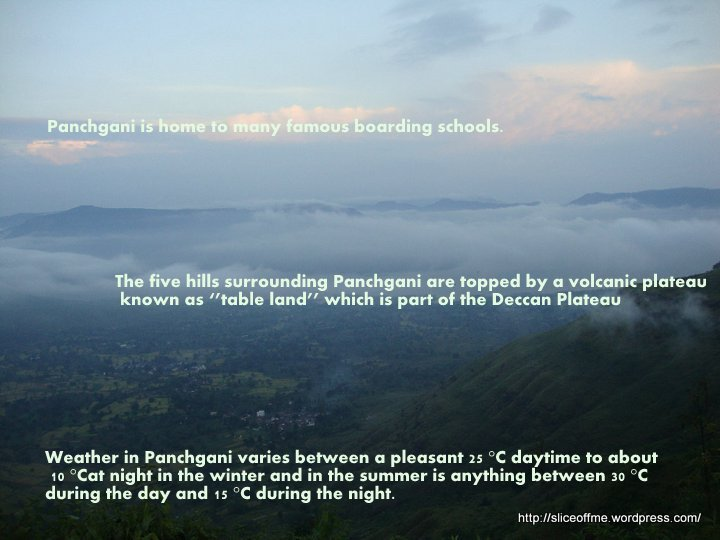 some interesting facts about Panchgani
