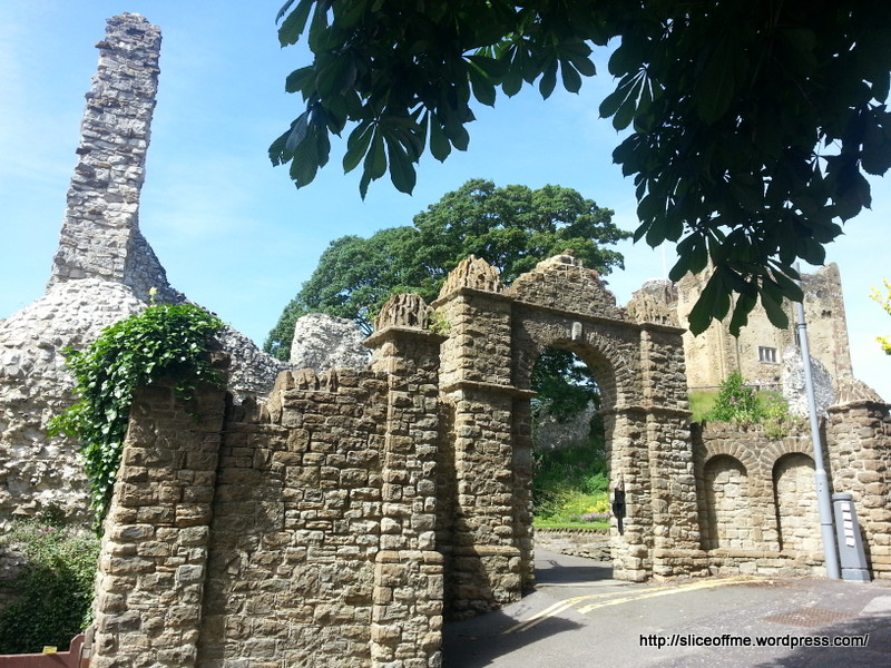 Guilford Castle Gates