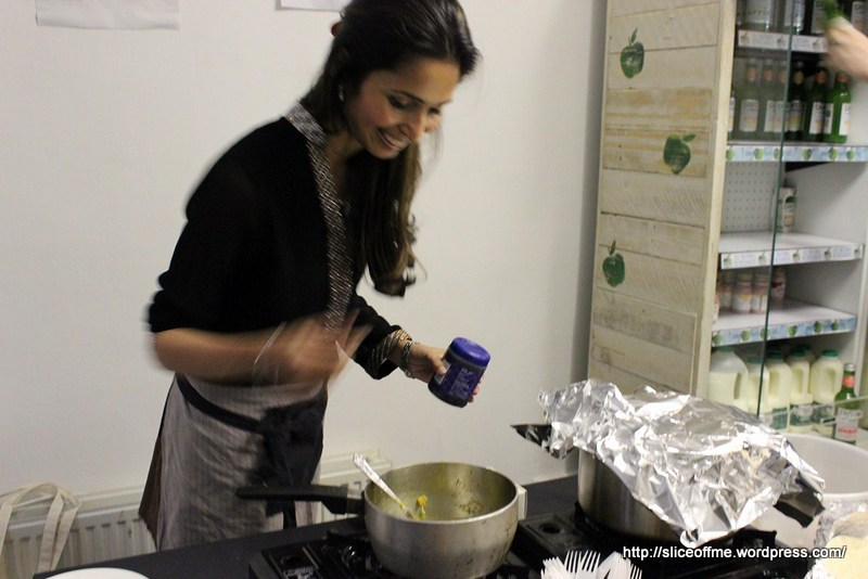 Maunika stirs some Indian Food Magic