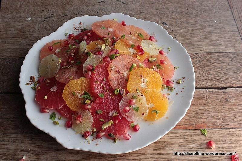 Fruit Plate - food photography workshop