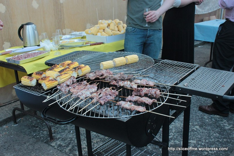 Superb Barbecue for Bethanys Book Launch