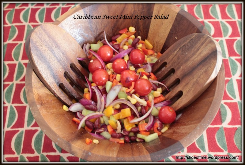 Caribbean Sweet Mini Pepper Salad