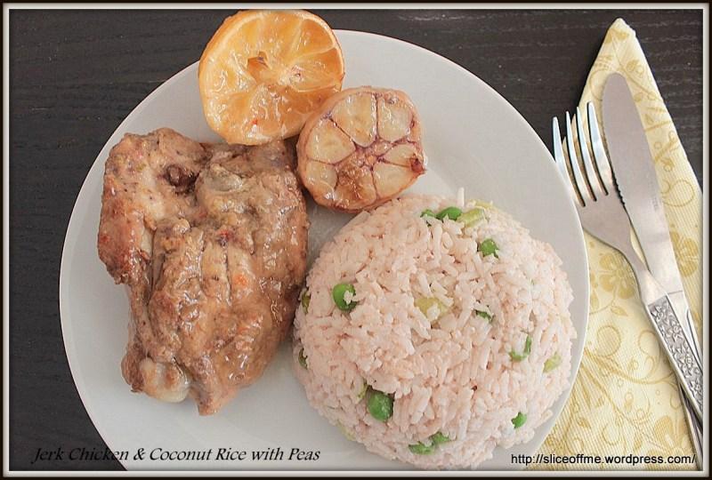 Jerk Chicken & Coconut Rice with Peas