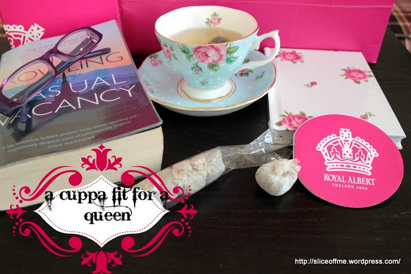 a cuppa fit for a queen