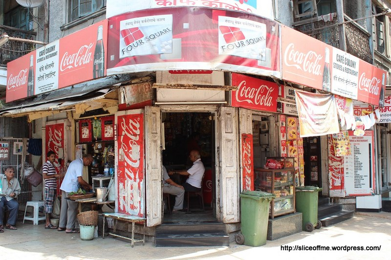 Cafe Colony entrance