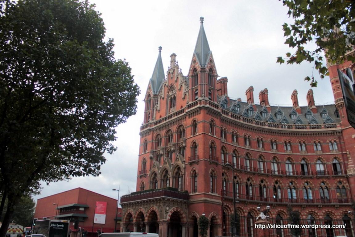 St.Pancras Renaissance Hotel today