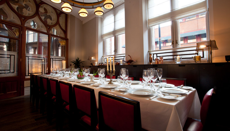 The Private Dining Room in daylight