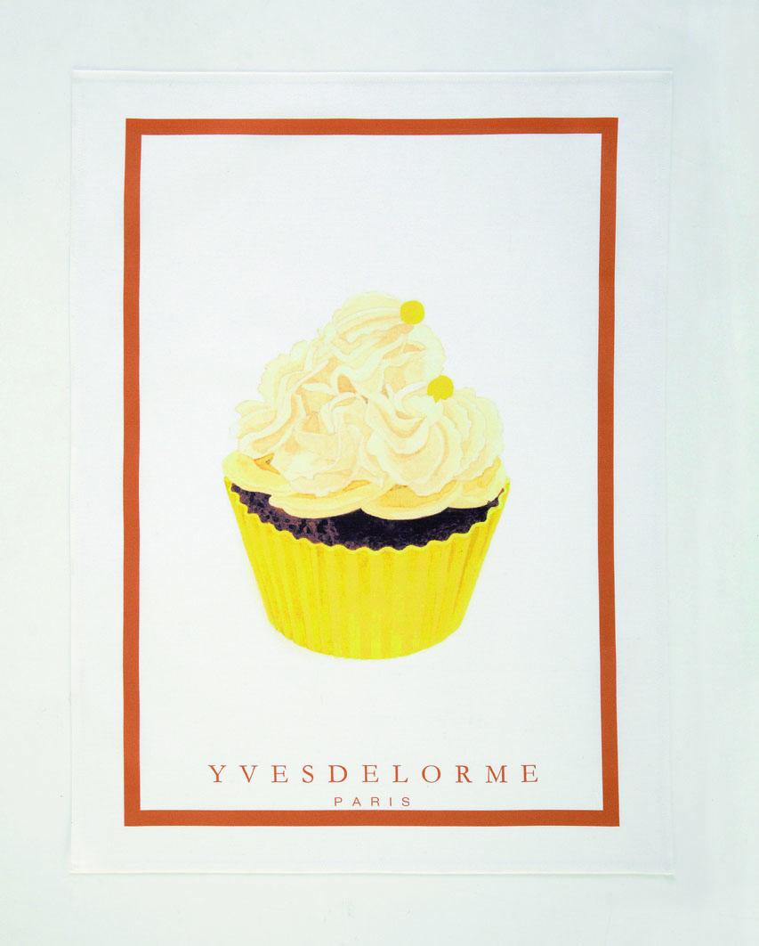 cup cake Torchon imprim+â-®