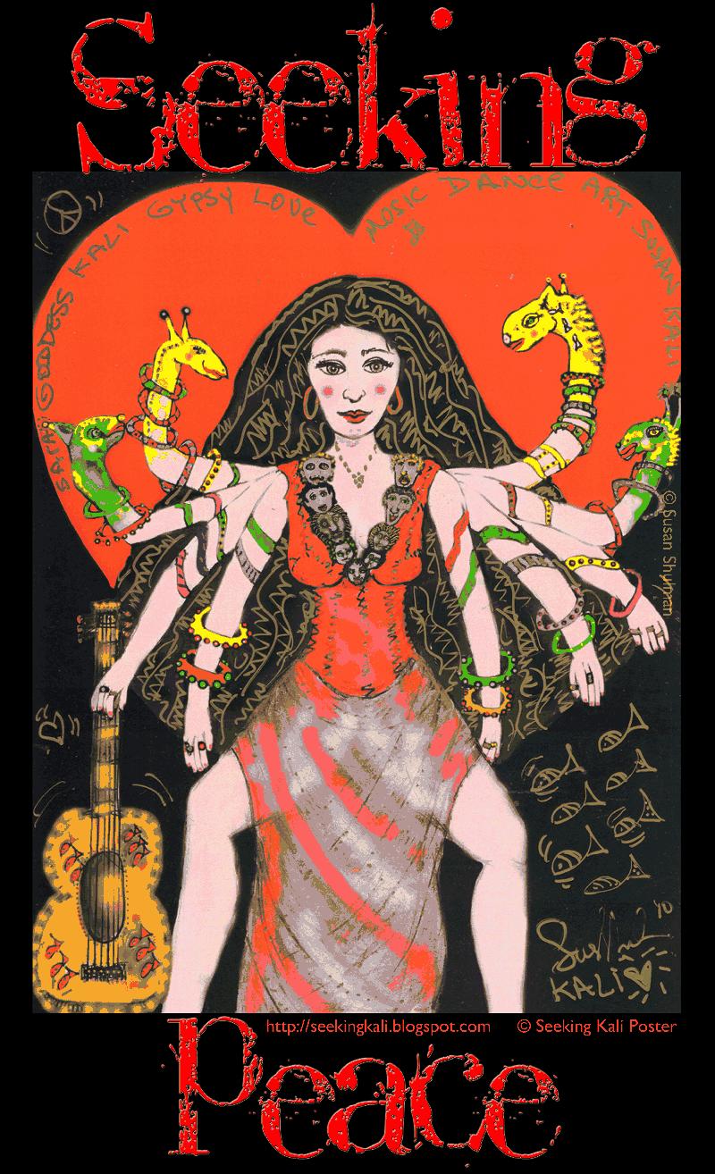 Seeking Kali Womens Day poster 8th marcg 2014