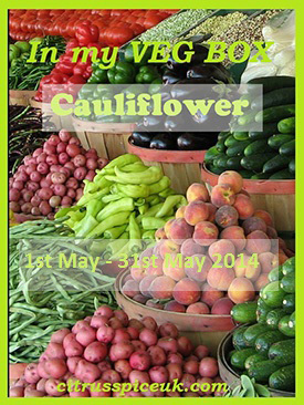 In my veg box cauliflower