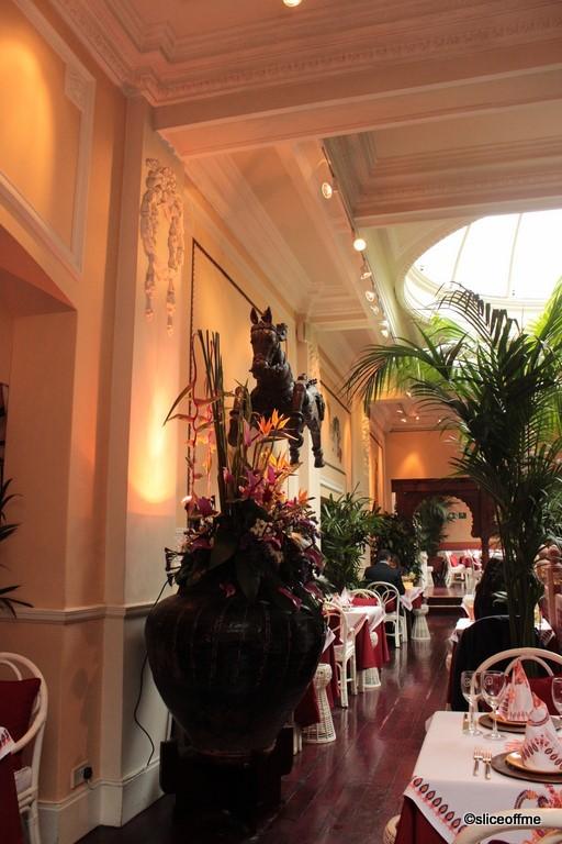 Lunch at le porte des indes a review sliceoffme for Porte des indes