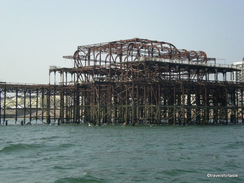 Family days out - Top 5 spots around London -  Remnants of West Pier Brighton