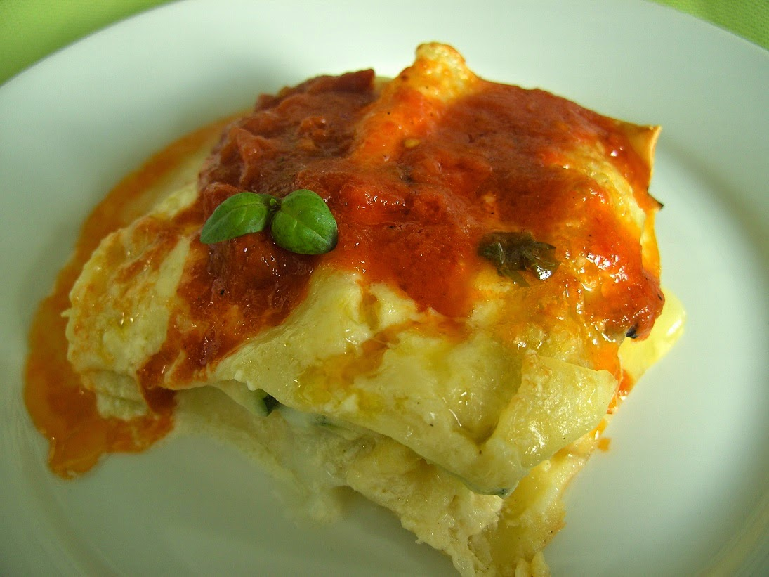 Vegetable lasagne 3
