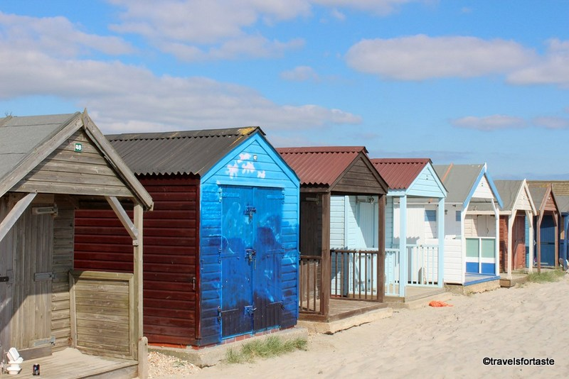 Family days out - Top 5 spots around London - Beautiful beach huts at the  Sandy Beach, West Wittering