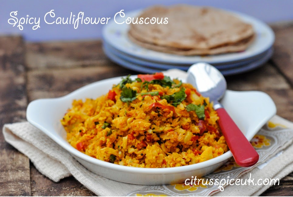 Spicy cauliflower couscous 1b