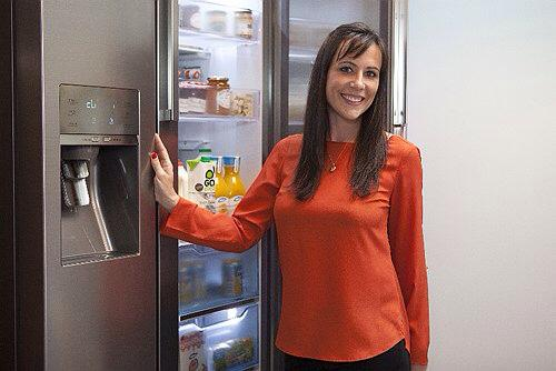 Vicky Silverthorn for the Samsung Food Case Fridge Launch