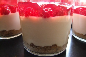 No Bake Raspberry Mousse - WEB