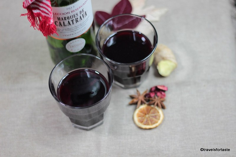 Hot Mulled Wine - Vin Chaud Recipe — Dishmaps