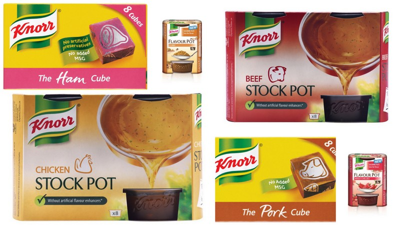 1-Knorr flavour and stock images