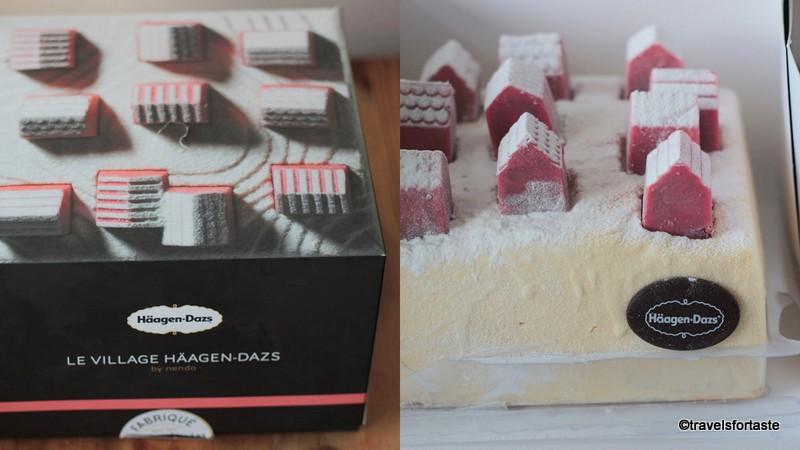 1-Le Village Haagen Dasz Ice Cream Cake - at Jools party