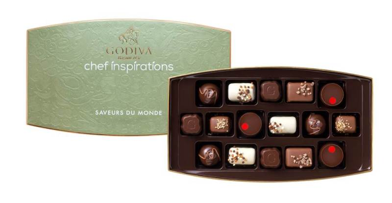 Godiva Chefs Selection from Charlottee