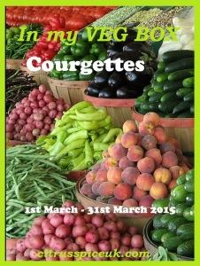 In my veg box  courgettes event logo