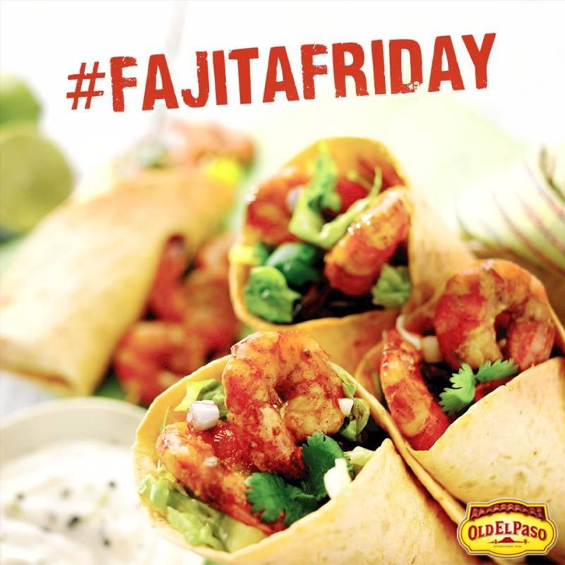 Old el Paso Fajita Friday