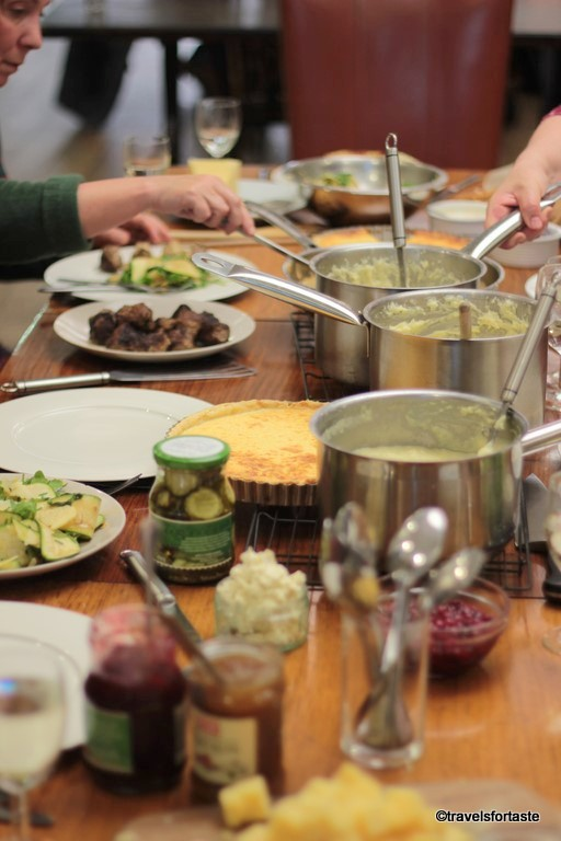 Scandinavian Feast wit  Västerbottensost