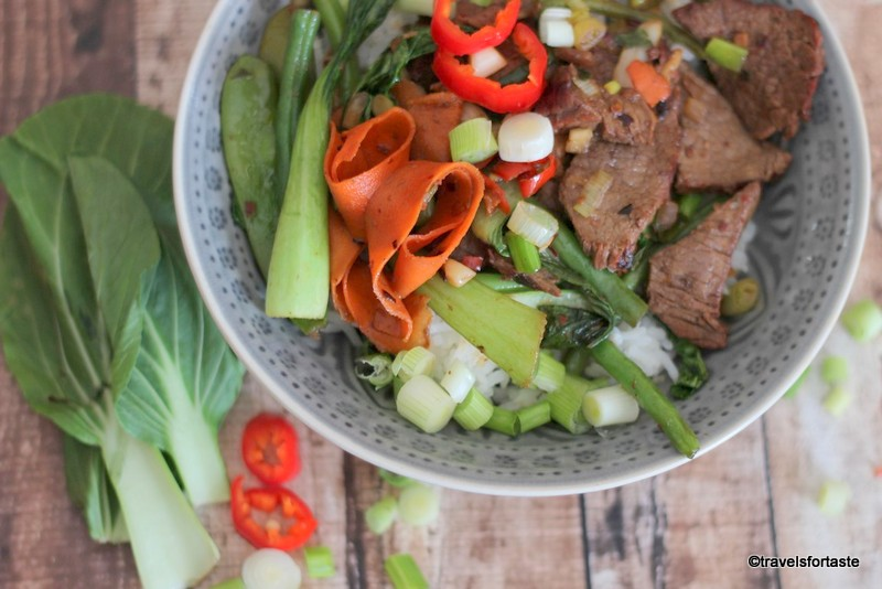 Korean Beef Stir Fry