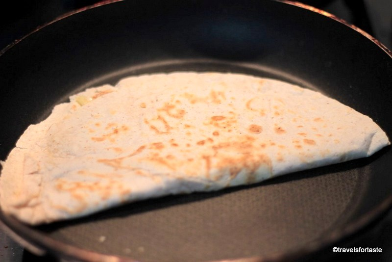 Folded Tortilla