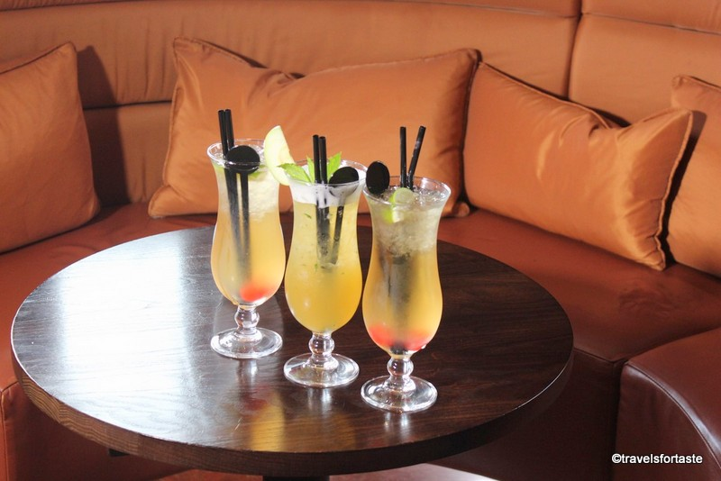 Refreshing Mocktails at Shampan