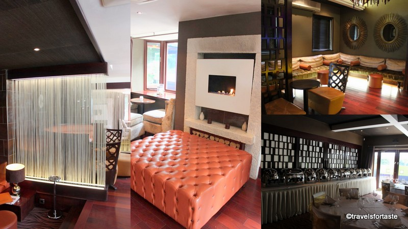 Posh interiors at the Shampan