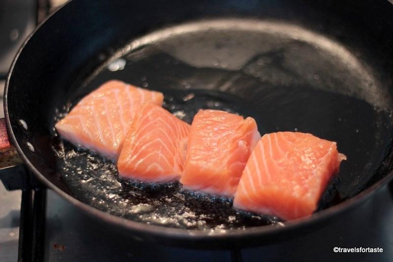Salmon Pan Shallow Fry